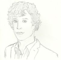 Benedict Cumberbatch by TheSimpsonsFanGirl