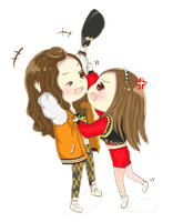 Yoona and Jessica PNG (chibi) by ShinMing