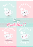 Keep Calm phone wallpapers availables for FREE by Naokawaii