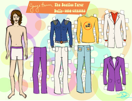 GEORGE PAPER DOLL 5 by 89000007ANL
