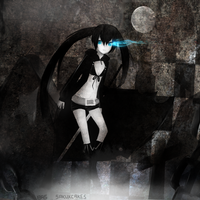 Black Rock Shooter Fanart by sakuxcakes