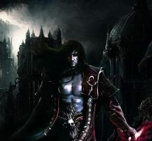 Castlevania: Lords of Shadow 2 Dracula by RenRenLotus