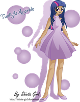 Twilight Sparkle Vestido by Shinta-Girl