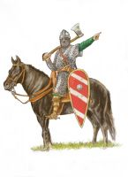 Norman Knight 11th Century Final by mr-macd