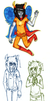 Everybody loves vriska by ne0nbunny