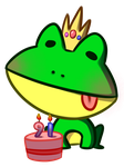 Frog Prince's Birthday by ChocoPiee
