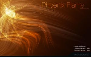 Phoenix Flame -Wallpaper pack. by Uribaani