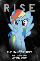 Rainbow Dash DKR Parody iPod/iPhone Wallpaper by AlphaMuppet