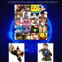 Ultimate VG Icons Battle by spucko