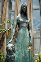 Me and my dog statue by ldeseta