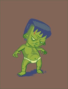 The-Return-of-Lil-Tiny-Baby-Frankenstien by chicanerysl