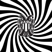 paok black and white by fanis2007