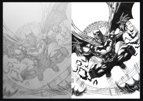 Batman WIP 2012 by barfast