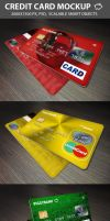 Credit Cards Mockup by C-3PO-upg