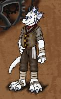 Steampunk Cranson Tolliver by hunterbahamut