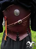 Mercenary waist cincher for male by Noir-Azur