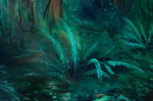 Further In Fern Detail by JustinGedak