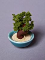 Miniature sculpted bonsai tree by kawaiibuddies