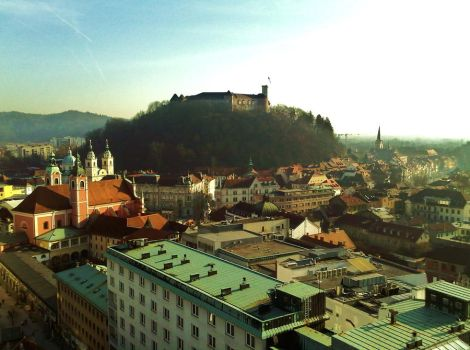 The capital city of Slovenia. by sm00sh