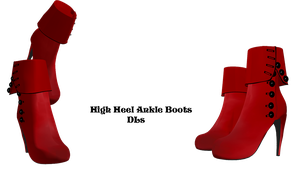 High Heel Ankle Boots DL by Allena-Frost-Walker