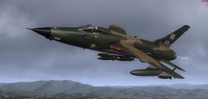 F-105 Old Crow 1 by agnott