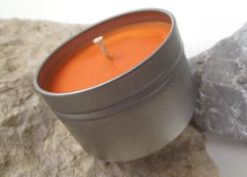 Orange for Men Soy Candle by curiouscarrie