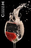 Splashing Strawberry n.11 by Carnisch