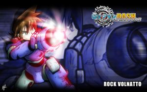 Rockman DASH Legends - Wallpaper - Rock Volnatto by HechEff