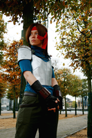 Cosplay: Jessie from Final Fantasy VII by StubbledGrapes