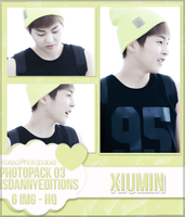 Xiumin (EXO) - PHOTOPACK#03 by JeffvinyTwilight