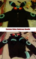 Shiny Umbreon Hoodie by Kilala04