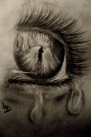 Eye Drawing by hgrodriguez17