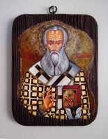 Saint Athanasius by GalleryZograf
