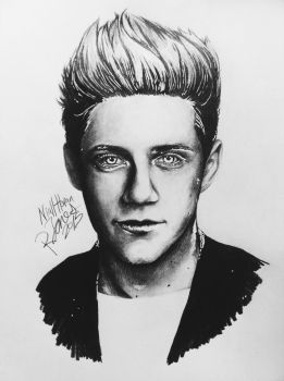 Niall Horan by RebeccaJonesArt