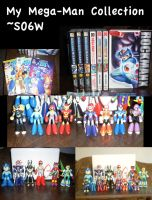 My Mega Man collection by SO6W