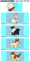 SoW - Snowy's Hypo Puppies by Wolf-Chalk