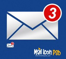 Mail Notification Icon - inventlayout.com by atifarshad