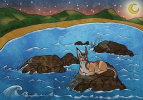 Life can be Rocky - Commission by Santanni