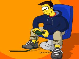 Me - Simpsons Style by Blackbolt