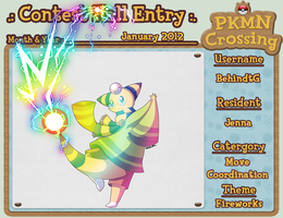 PKMNC - Jan 2012 Contest Entry by TamarinFrog