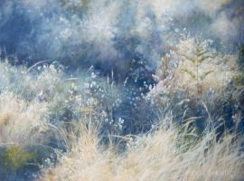 Nature's Garden-  PAINTING by AstridBruning