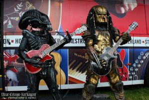 Alien vs Predator vs Guitar by PedroTpredator