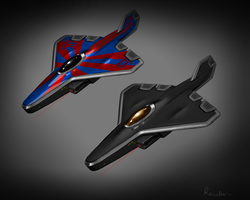 Stealth Plane by Reinder88
