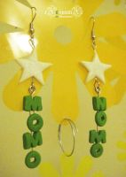 Momo Star Earrings by xXnijuuniXx