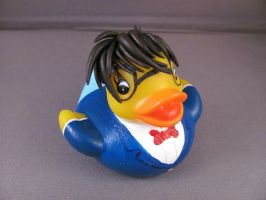 Detective Conan Duck by spongekitty
