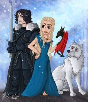 Disney's Game of Thrones by Helonzyz