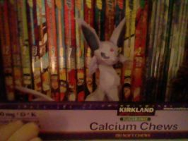 Espeon Papercraft, Clearer Pic by PrincessStacie
