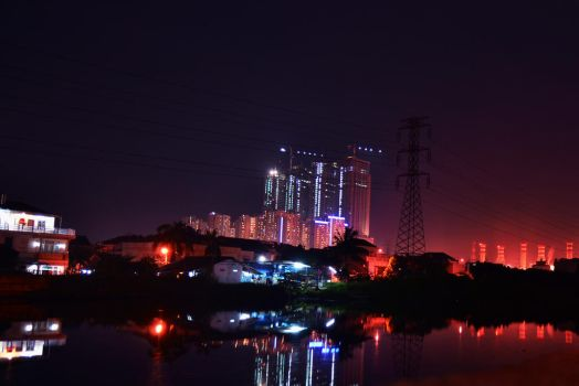 Pluit At Night (1) by Ozzixx
