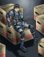 .: : Snake Takes A Break : :. by Scourge-Is-Awesome