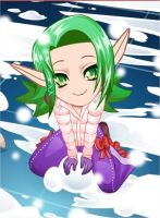 KEIRA HAGAI -Snow Xmas Dress Up Game by KIERAMANDY